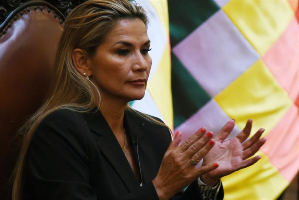روسيا تعترف بآنيز رئيسة مؤقتة لبوليفيا