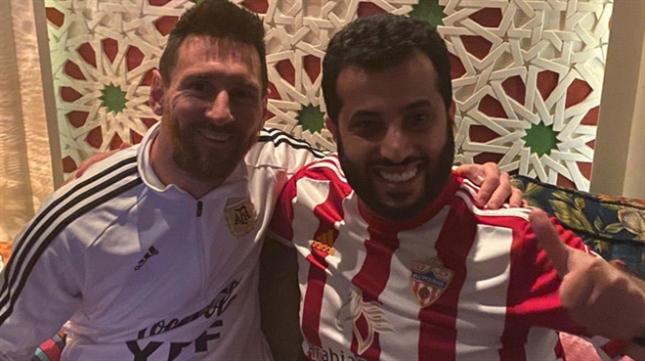 صورة تركي آل الشيخ يعرض على ميسي الانتقال إلى فريقه
