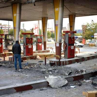 احتجاجات على رفع سعر البنزين: حكومة روحاني لن تتراجع