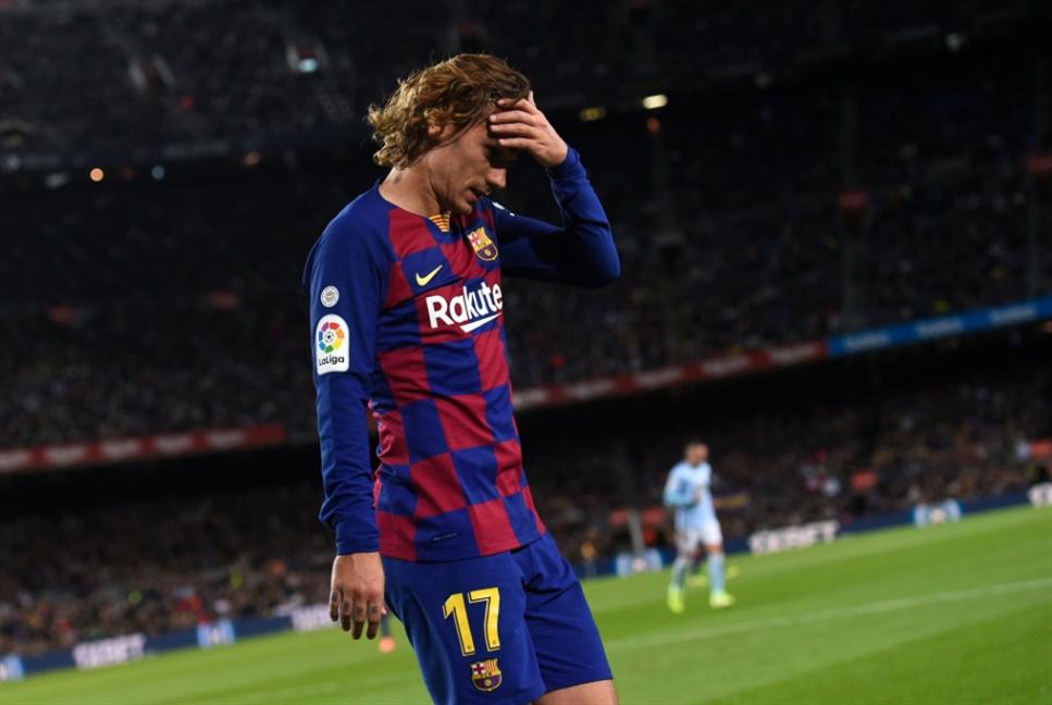 غريزمان يعترف بصعوبة التأقلم في برشلونة