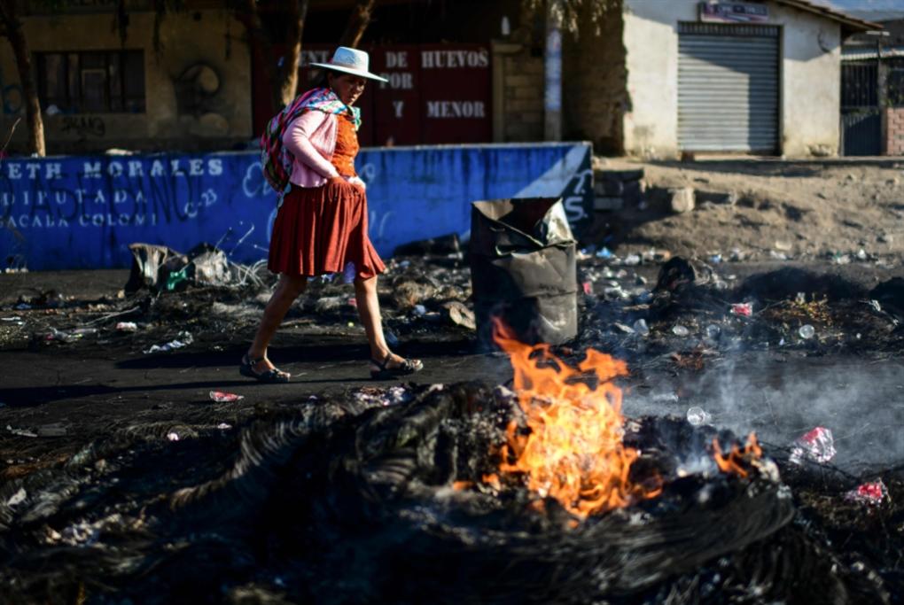 موراليس يحذّر من حرب أهلية