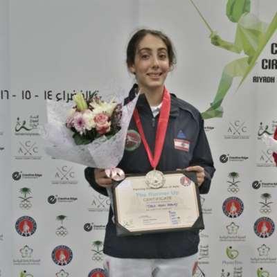 4 ميداليات للبنان في بطولة آسيا للمبارزة