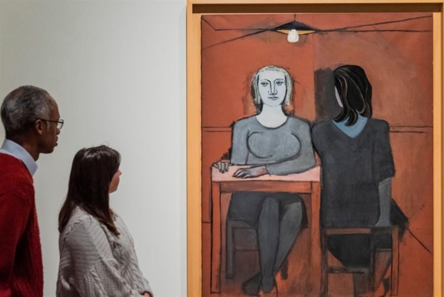 لوحة بيكاسو... للمرة الأولى في بريطانيا