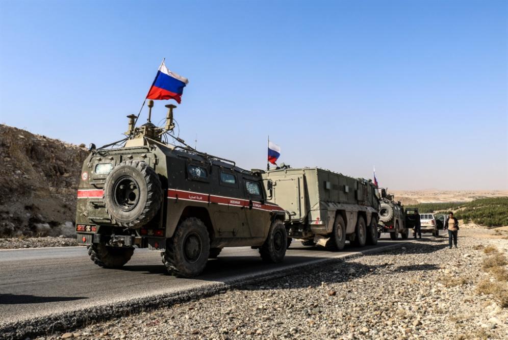 دوريّات روسيّة ــ سوريّة في محيط تل تمر