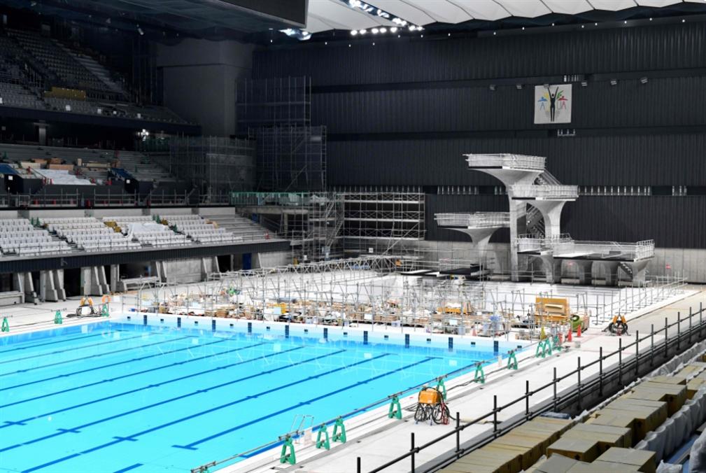 اليابان تكشف عن مسبحها الأولمبي