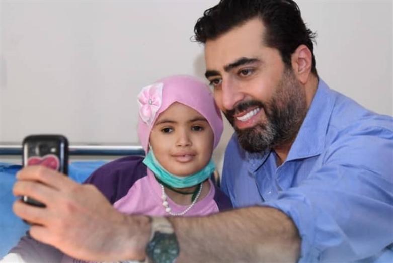 باسم ياخور: ادعموا الصغار المصابين بالسرطان!