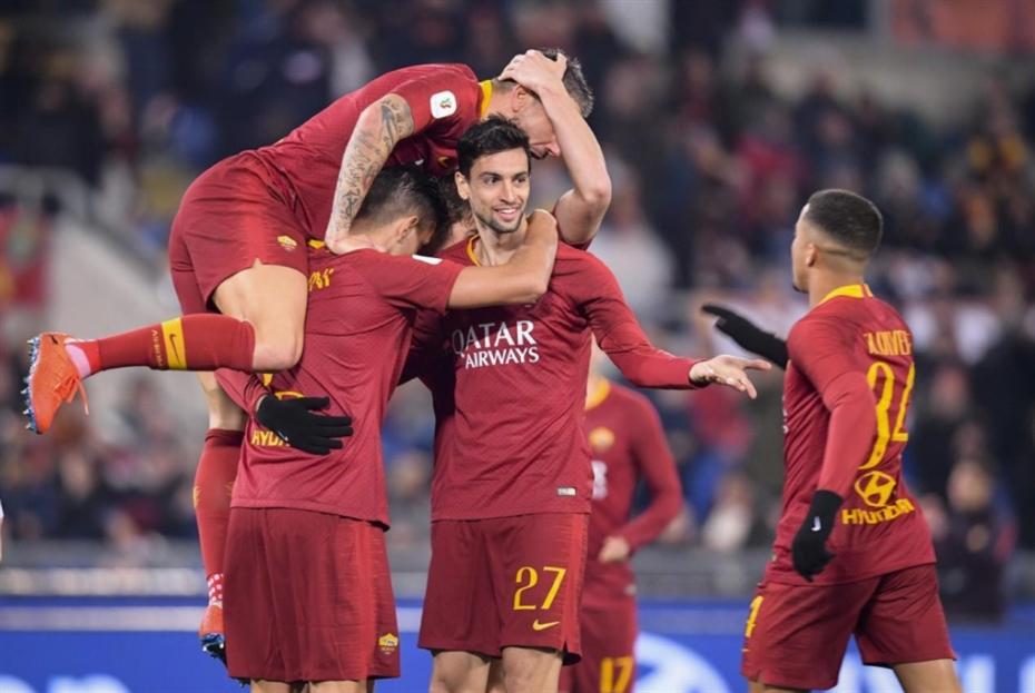روما إلى ربع النهائي