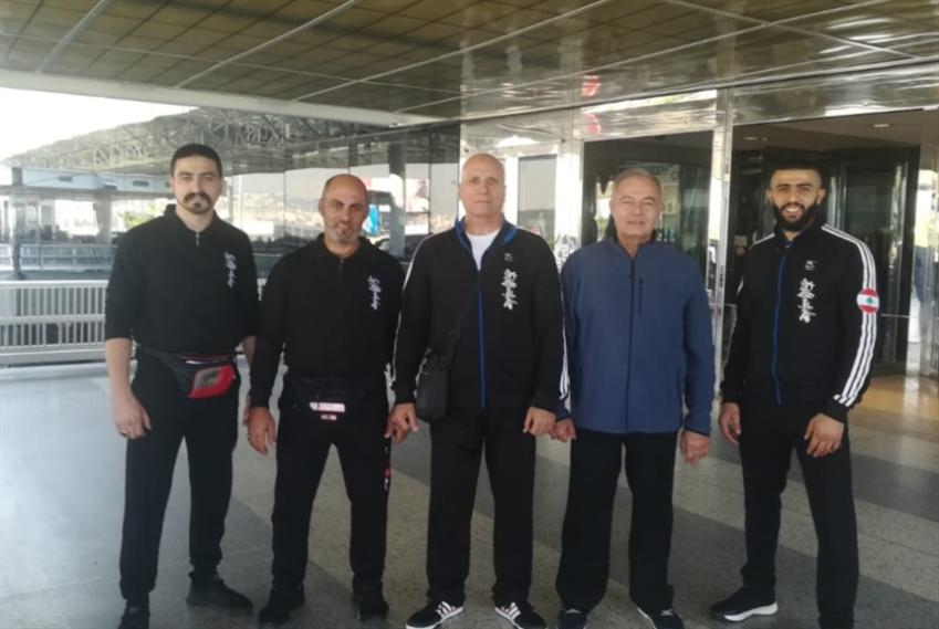 بعثة نادي أوياما تمثّل لبنان في بطولة العالم للشن كيوكوشنكاي