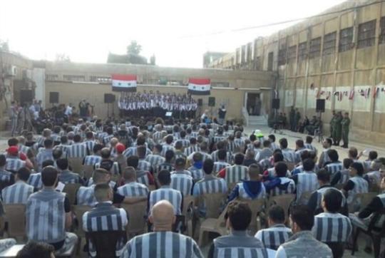 سجناء «عدرا المركزي» يُنشدون «لحن الأمل»