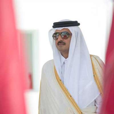 أمير قطر مرّ من... الإعلام اللبناني