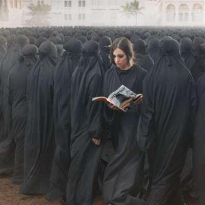 (صورة) ديمة صادق والفستان الأزرق