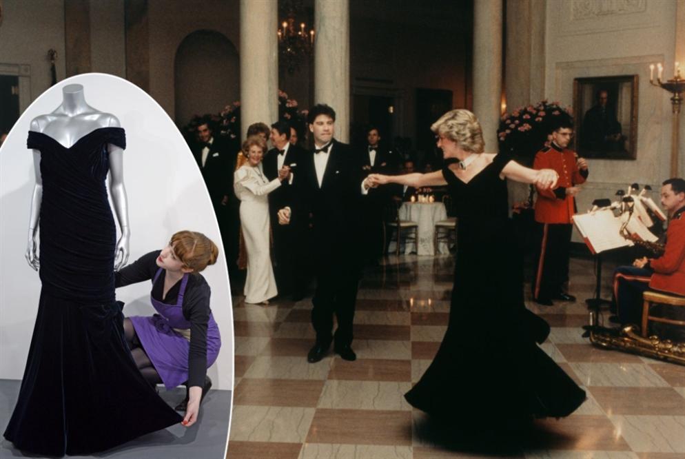 بيع فستان «ليدي دي» بـ 280 ألف دولار