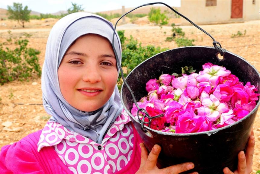 «الوردة الشامية» على لائحة التراث غير المادي لـ«يونسكو»