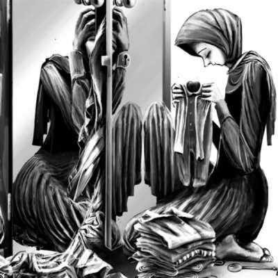الصدمة كخزانة ملابس مبعثرة