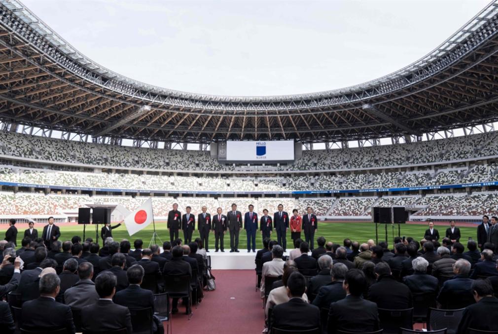 اليابان تفتتح ملعب طوكيو