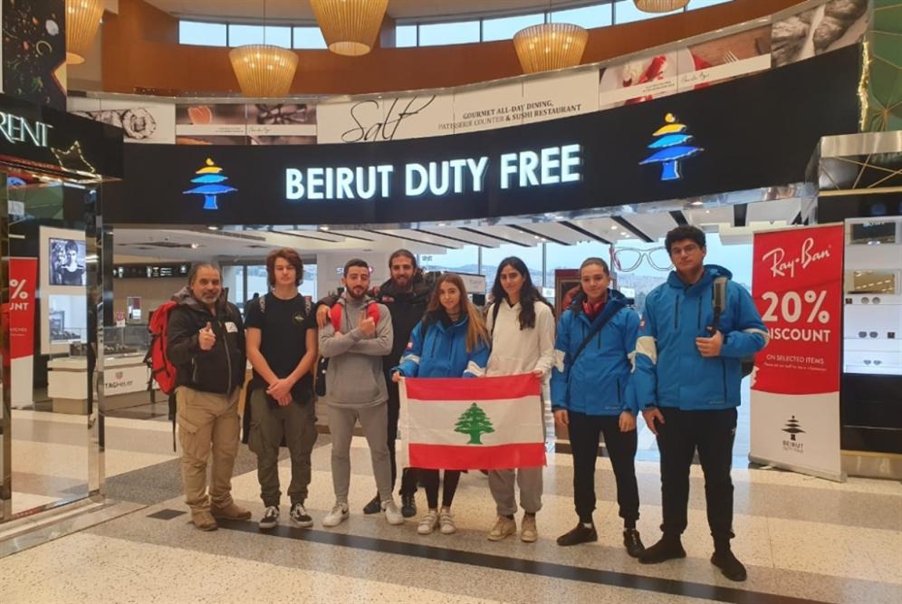 بعثة منتخب لبنان في التزلّج الألبي إلى تركيا