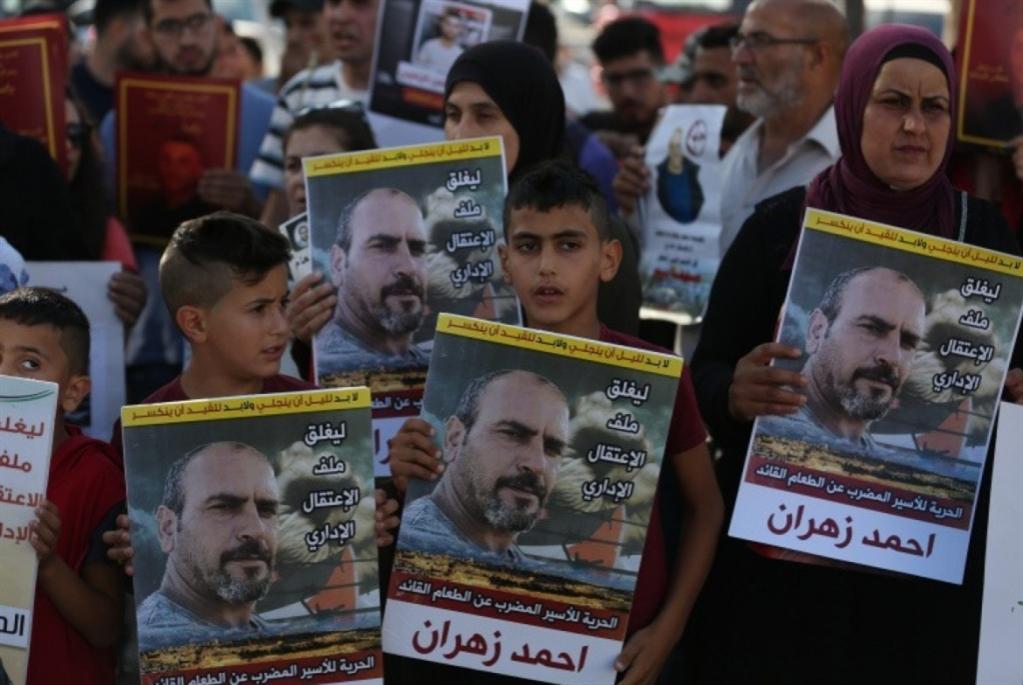 الأسير زهران... معركة إضراب ثانية في أقل من سنة