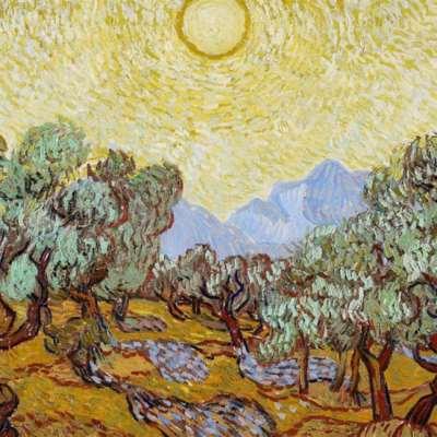 شجرة الزيتون والإله زحل