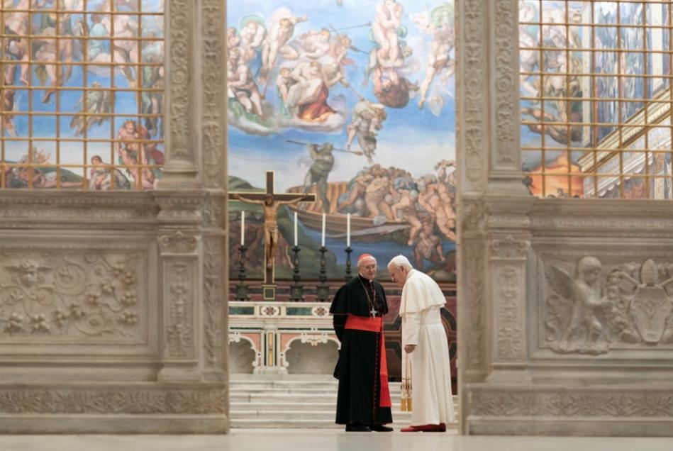 «البابوان» نظرتان مختلفتان إلى الدين على نتفليكس | فرناندو ميريليس: أيتها الكنيسة... مغفورة لك   «خطاياكِ»