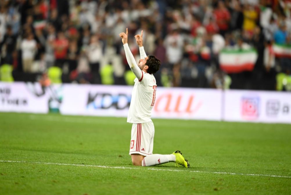 ايران تلتقي اليابان في نصف النهائي