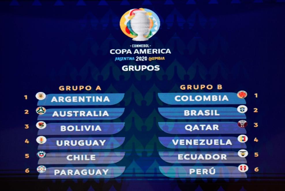 الأرجنتين وكولومبيا تستقبلان البطولة القارية