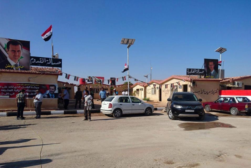 دمشق تعفي الشاحنات العراقية من رسوم الدخول عبر منفذ القائم