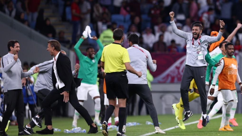 صورة البحرين والسعودية في النهائي
