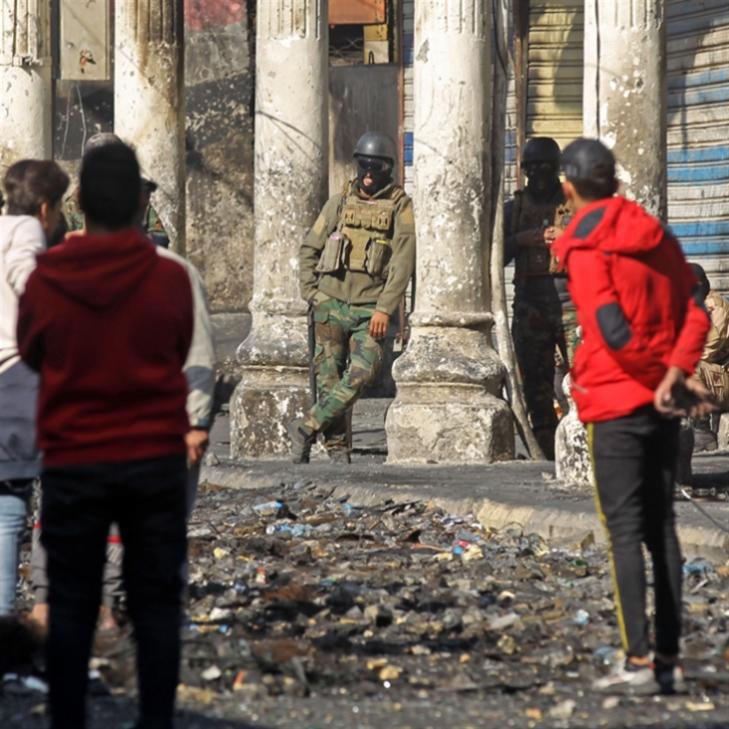 السيستاني: للتمييز بين السلميّين والمخرّبين | مجزرة في بغداد!