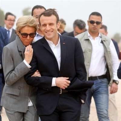 ماكرون يبدأ زيارته لمصر: عقود بـ«مئات ملايين» اليوروات