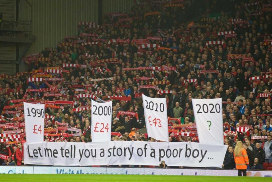 ليفربول النادي الأكثر ربحاً في التاريخ