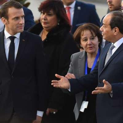 مصر | ماكرون «يصارح» السيسي: انتقادات غير قابلة للصرف