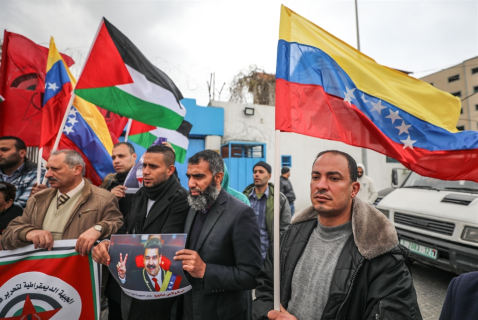 تآمر عربي مع واشنطن: عقوبات على النفط الفنزويلي