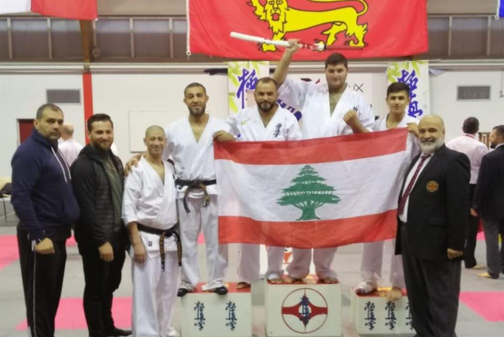 ذهبيّة للبنان في بطولة النورماندي للكيوكوشنكاي