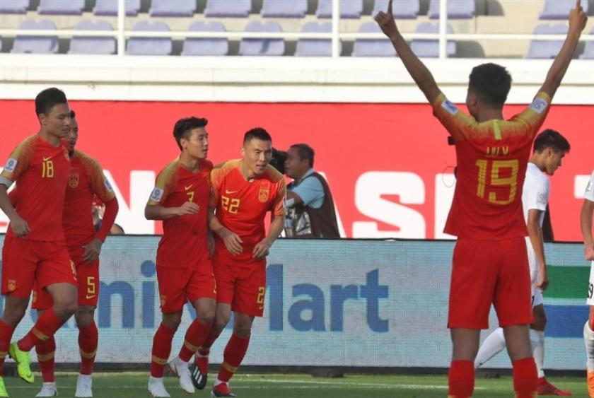 الصين تفوز على قرغيزستان