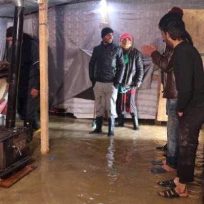العاصفة تجدّد «التغريبة» السورية