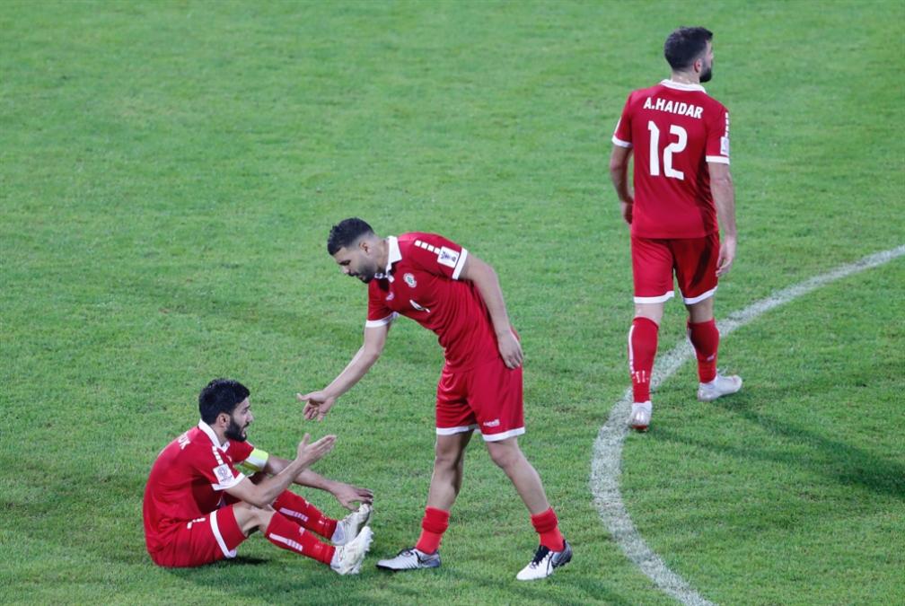 لبنان يتراجع 4 مراكز في تصنيف المنتخبات