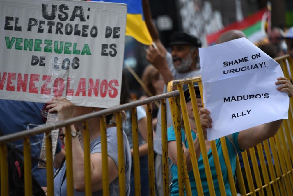 واشنطن لا تتراجع وموسكو تحذّر | اجتماع مونتفيديو: استخدام القوة مرفوض