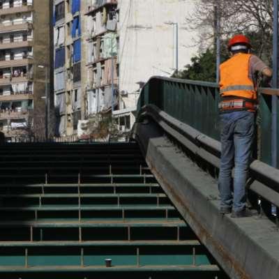 جسر البسطة: 6 أشهر لتأهيل عشرات الأمتار!