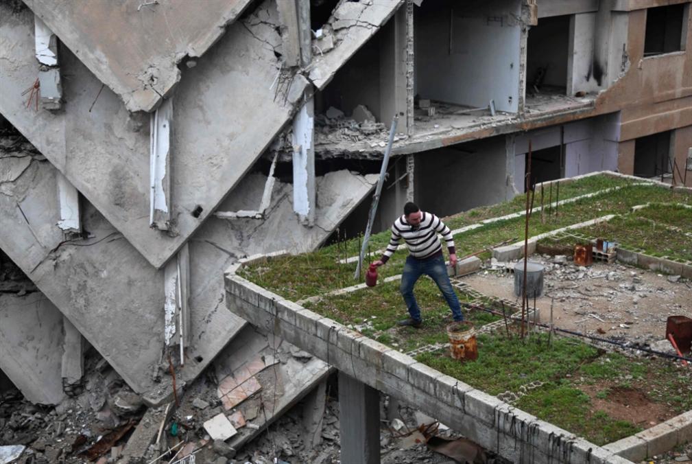 منازل السوريين المدمّرة... ومشروع «الألف ميل»!