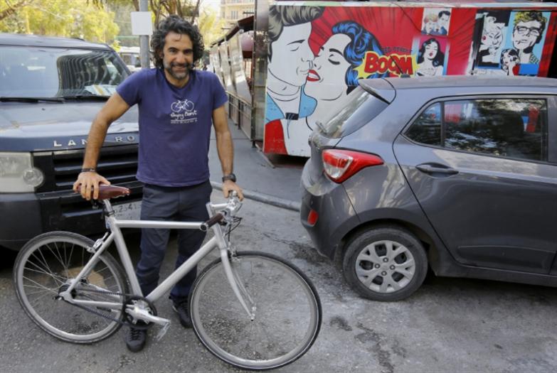 فيليب داغر: عمدة بيروت للدراجات الهوائية