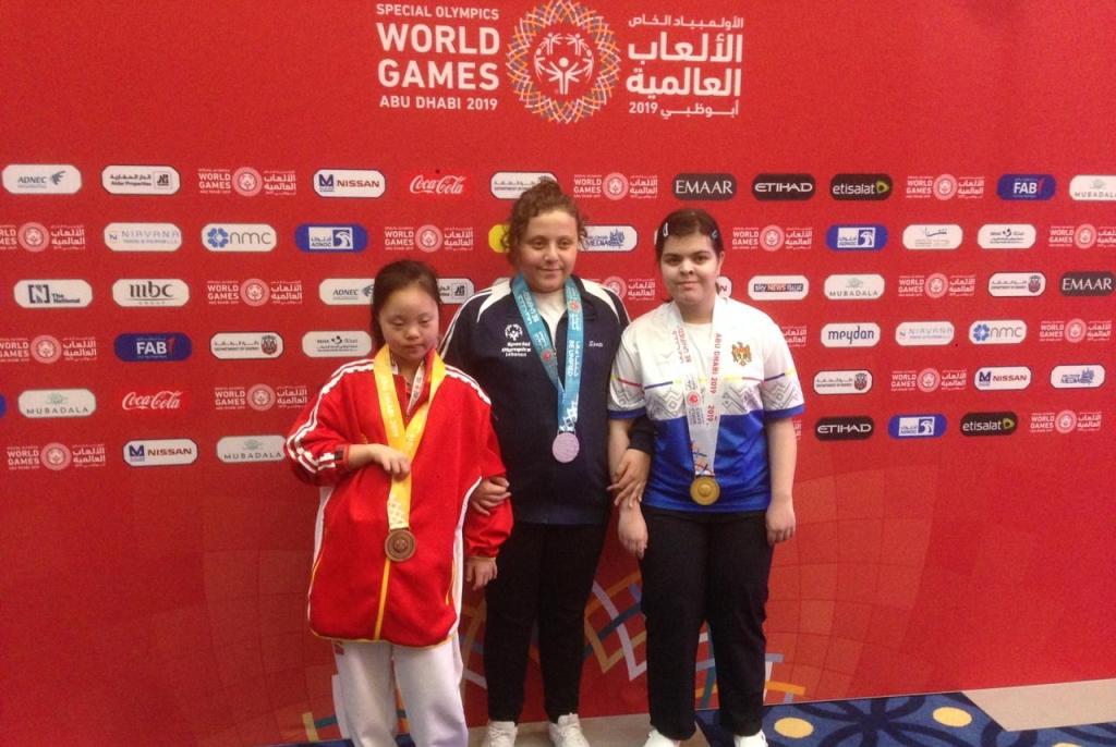 19 ميدالية للبنان في الأولمبياد الخاص