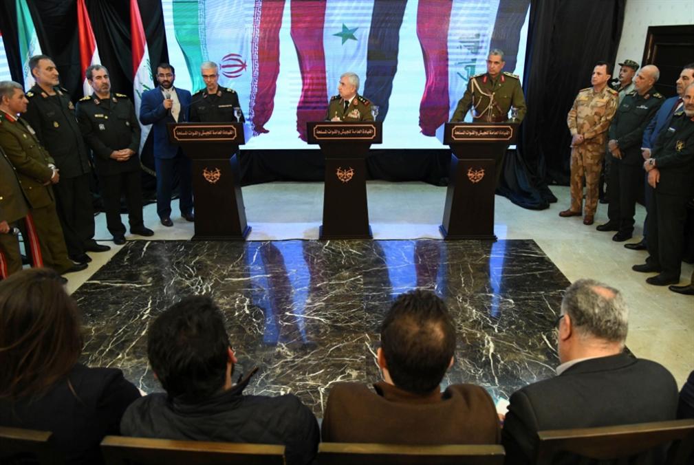 قادة «الحلفاء» في دمشق: نحو ربط العواصم براً... وطرد الأميركيين