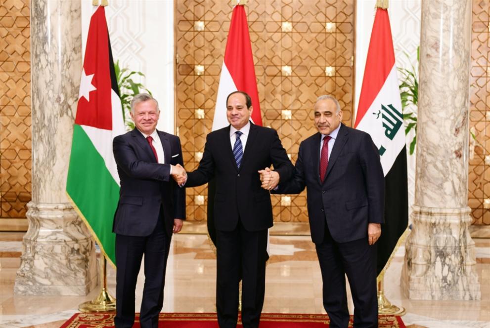 قمة ثلاثية في القاهرة: الاقتصاد يتصدّر المباحثات