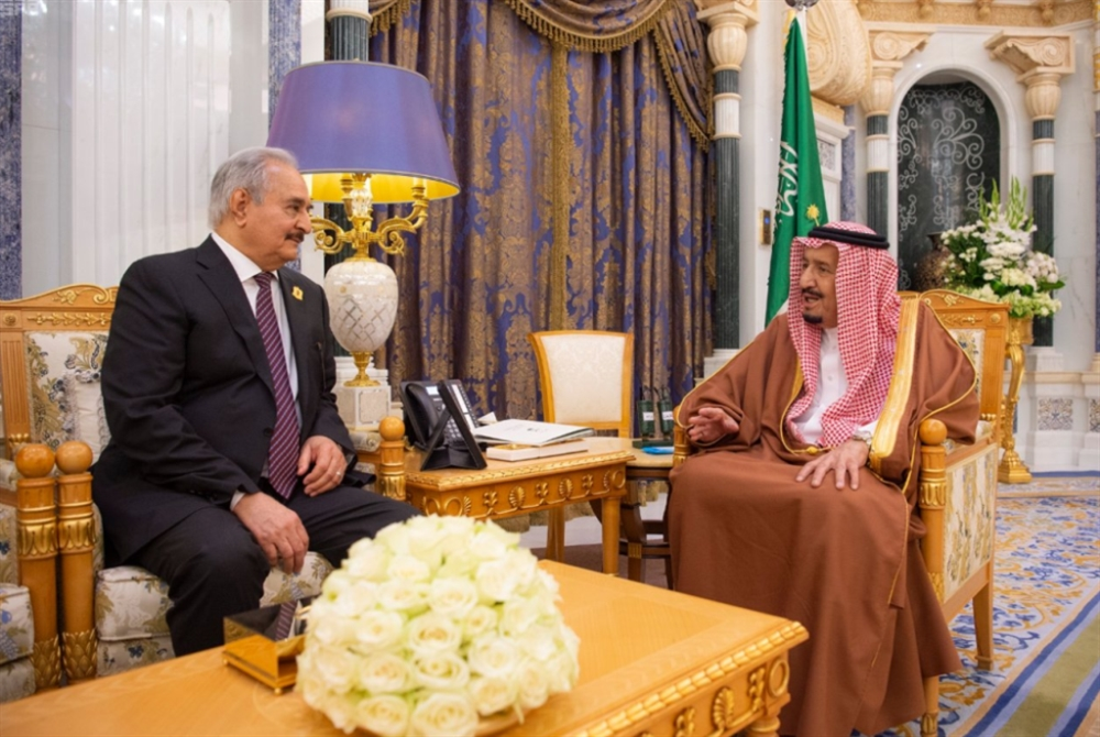 حفتر في قصر اليمامة: بحثاً عن تزكية لمعركة طرابلس