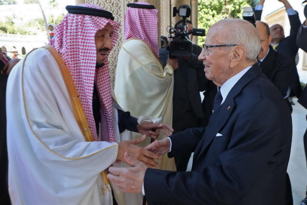 سلمان في تونس: رفض شعبي يعكّر الاحتفاء الرسمي