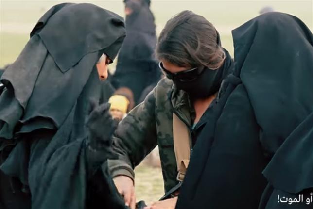 «فرانس 24» وراء نساء «داعش»