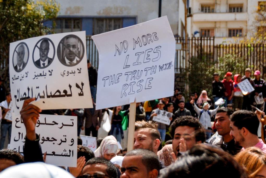 الجزائر | الشارع يرفض الرئيس المؤقت: لحلّ سياسي يضمن التغيير