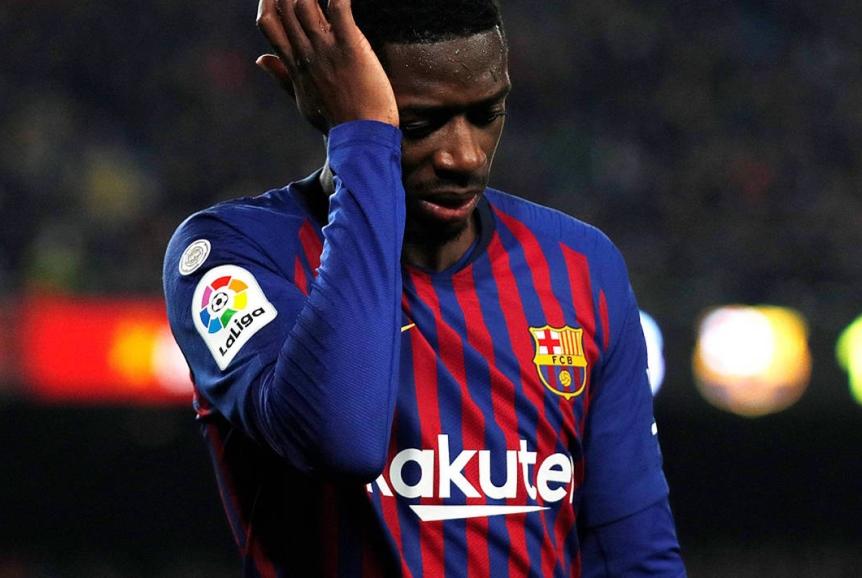 تغريم لاعب برشلونة