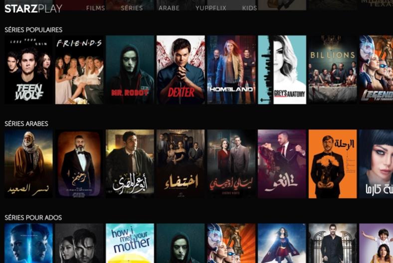 STARZPLAY... خدمة فيديو عبر   الطلب جديدة في لبنان