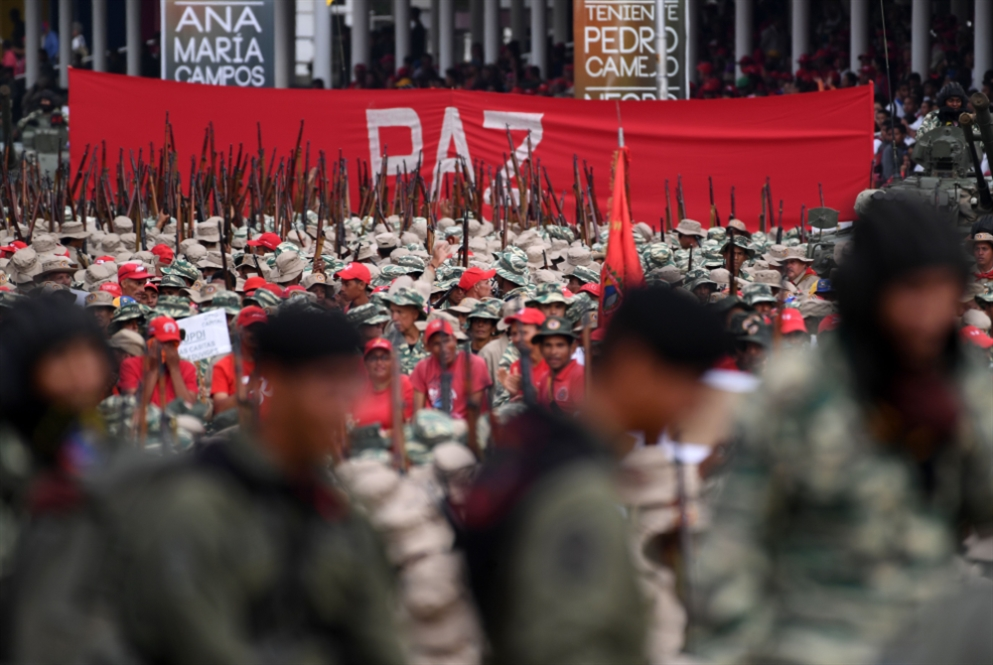 مادورو: لدينا أكثر من مليوني مقاتل